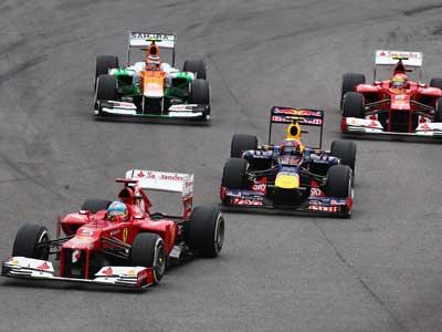 Анализ выступления команд Формулы-1 в Бразилии