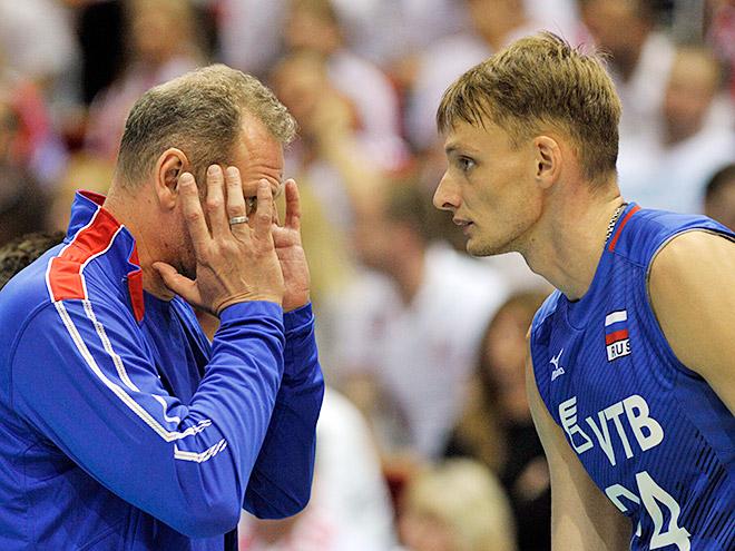 Сборная России вновь проиграла полякам в рамках Мировой лиги