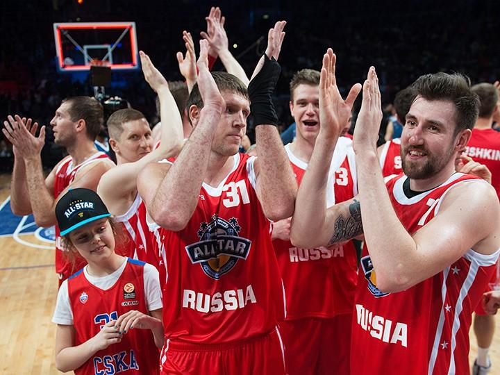 Сборная России обыграла сборную мира на Матче звёзд в Сочи