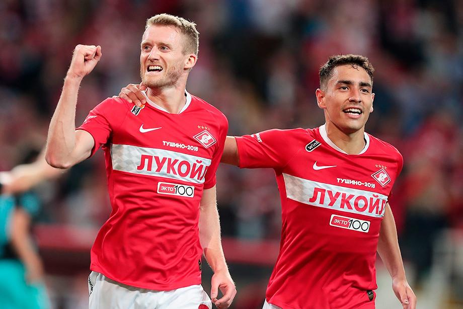 Спартак — Тун — 2:1 обзор матча Лиги Европы