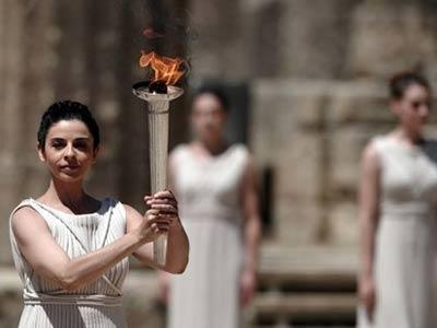 Украина выбрала олимпийских факелоносцев