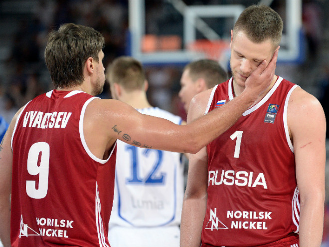 Россия проиграла Финляндии на Евробаскете