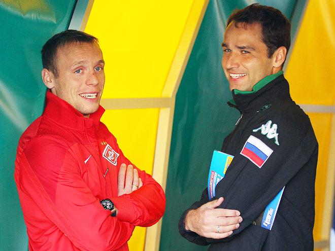 Денис Глушаков и Роман Широков