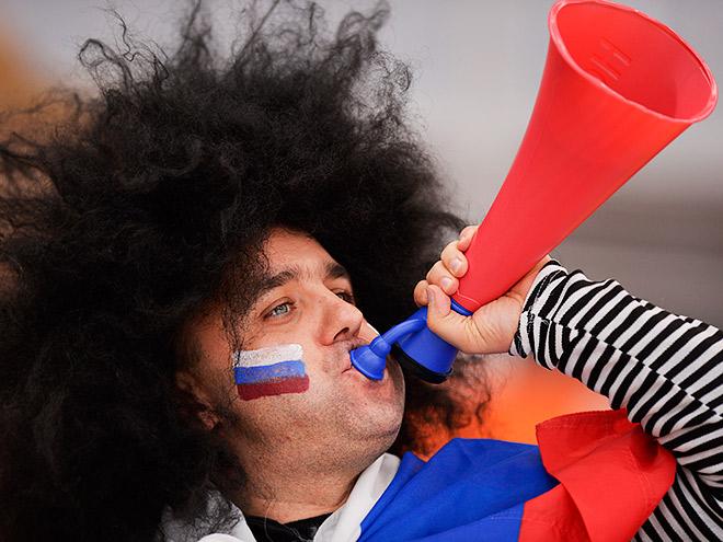 На игру сборной России в Краснодаре нельзя проносить еду и дудки