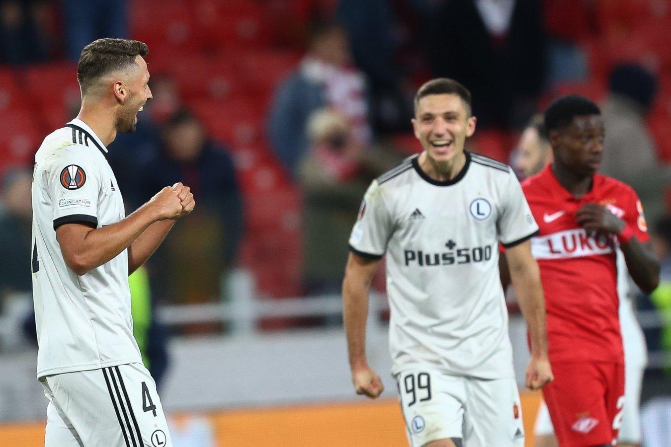 Президент Легии прокомментировал победу клуба над Спартаком в Лиге Европы