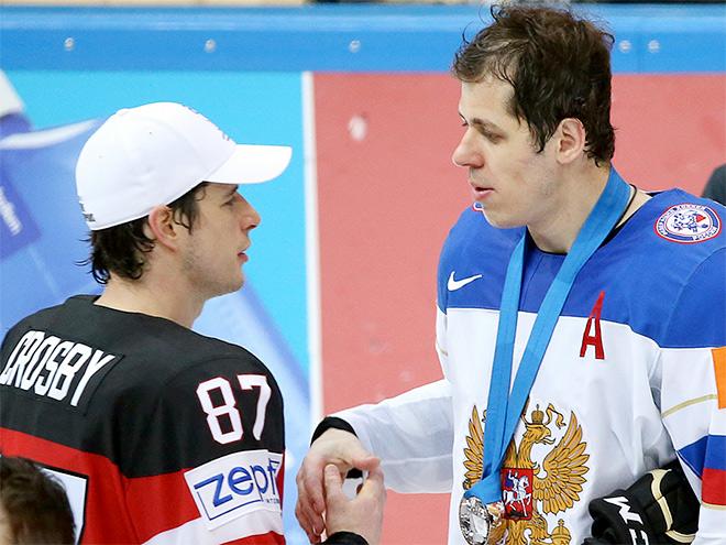 Сидни Кросби и Евгений Малкин