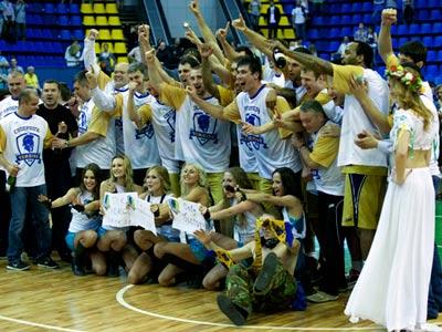 Киевский клуб готовится к дебюту в Евролиге
