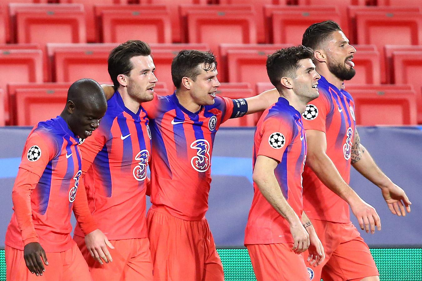 Челси обыграл Порту в первом матче 1/4 финала Лиги чемпионов