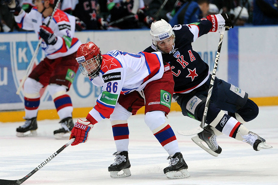 У Кучерова есть один гол в КХЛ. Русский рекорд в НХЛ – повод его вспомнить