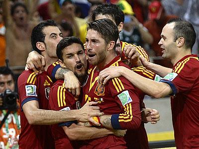 Испания выиграла у Италии в серии пенальти