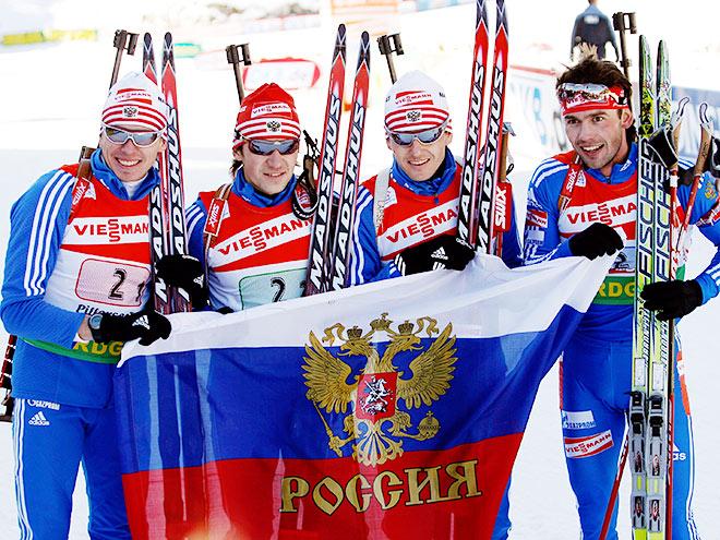 Сборная России по биатлону: лучшие чемпионаты мира