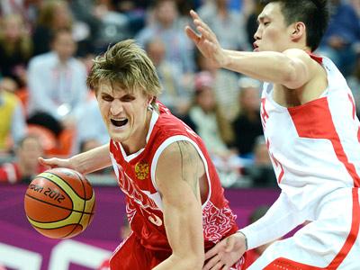 Лондон-2012. Баскетбол. Россия — Китай