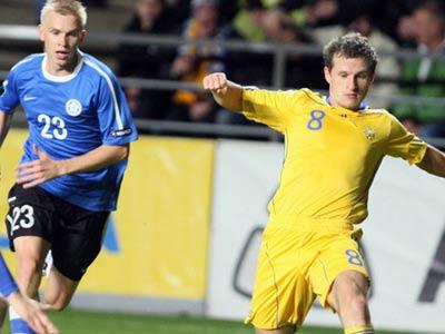Сегодня сборная Украины сыграет спарринг с Эстонией