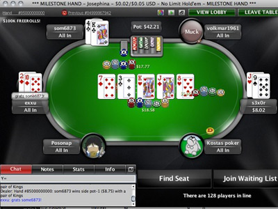 Покер. Россиянин som6873 выиграл 85-миллиардную раздачу на PokerStar