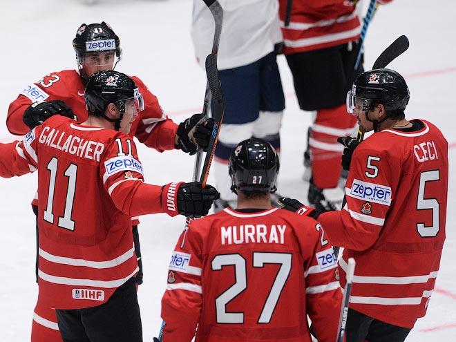 ЧМ-2016. Канада – США – 5:1