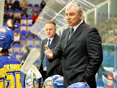 Главный тренер Запада Юрий Страхов на Кубке Вызова