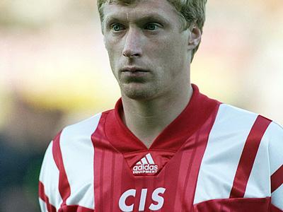 Украинец Михайличенко в футболке сборной СНГ (CIS)