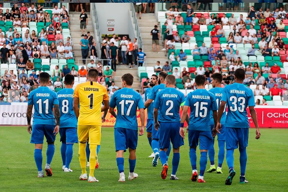 «Динамо» Мн — «Зенит» — 4:0