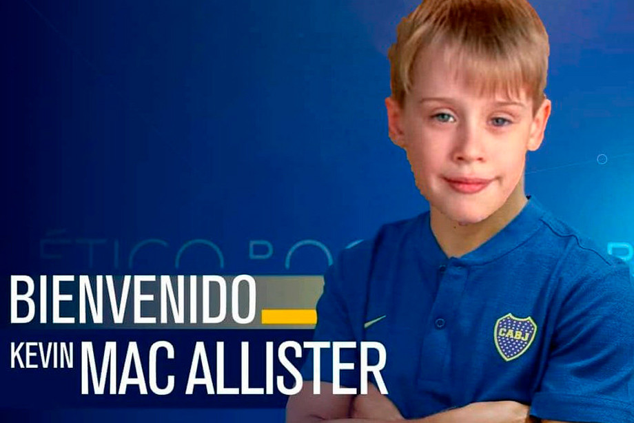 Кевин Макаллистер — новичок «Бока Хуниорс»