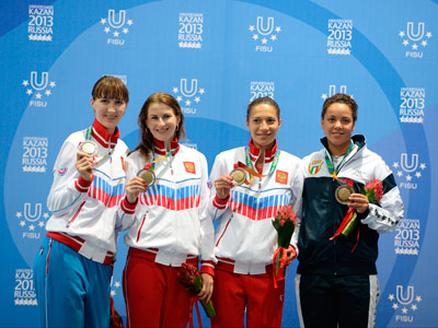 9 главных побед России в 4-й день Универсиады