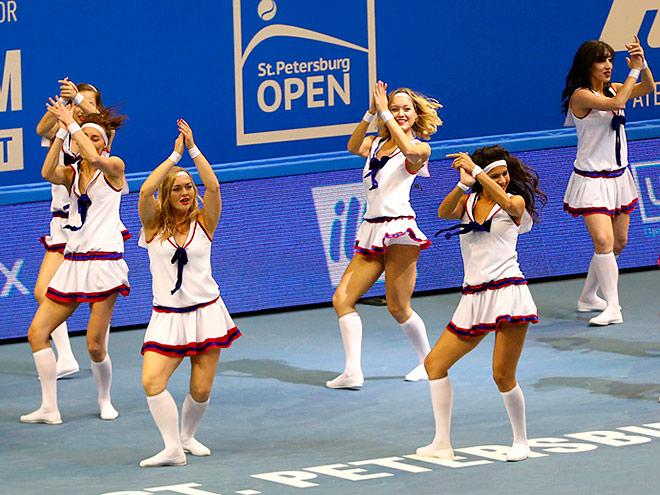 Экскурсия по кортам St. Petersburg Ladies Trophy