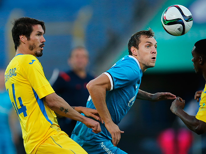 Кто победит в матче 25-го тура РФПЛ «Ростов» - «Зенит»?