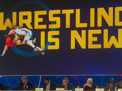 Борьба осталась в программе Олимпиады
