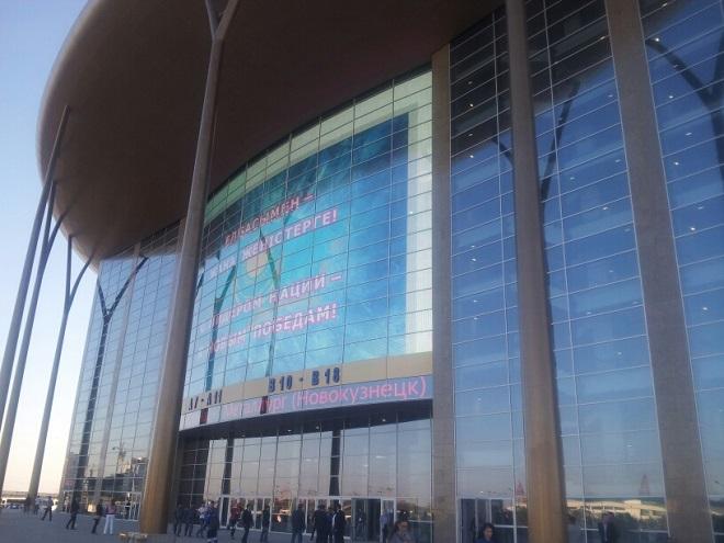 Новая арена «Барыса». Фоторепортаж