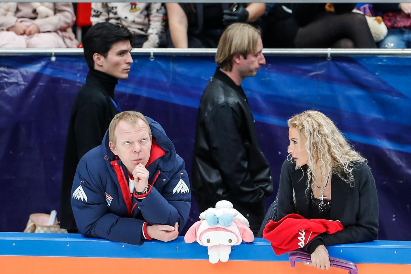 Плющенко согласился подраться с хореографом Тутберидзе