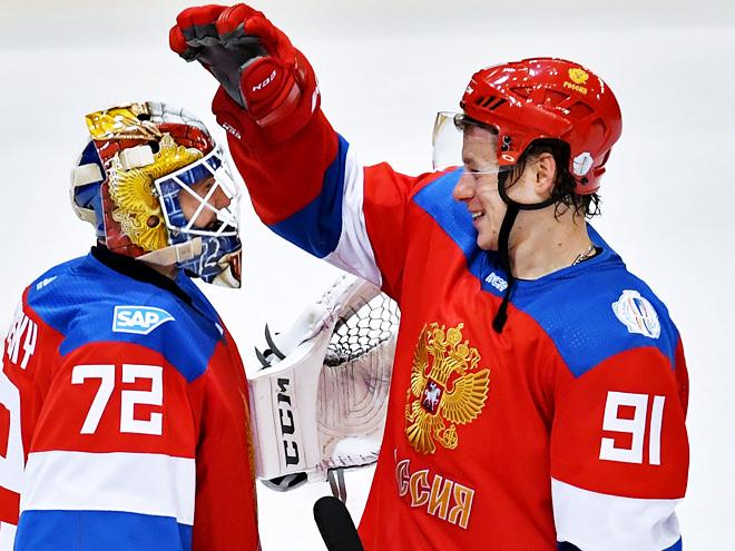 Сборная России сыграет с Канадой в полуфинале Кубка мира