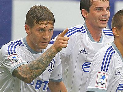 Андрей Воронин (слева)