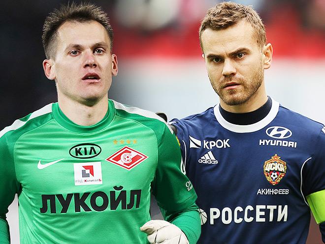 Артём Ребров и Игорь Акинфеев