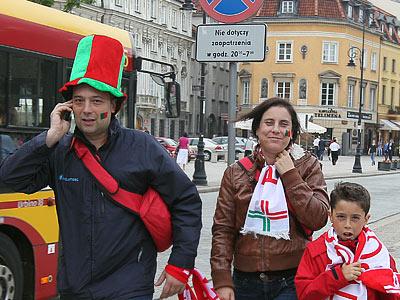 Репортаж из польской столицы перед матчем Чехия - Португалия