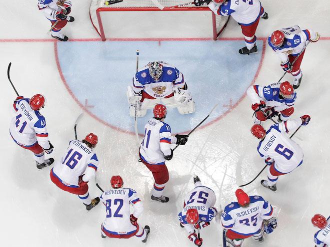 Сборная России. Хоккей