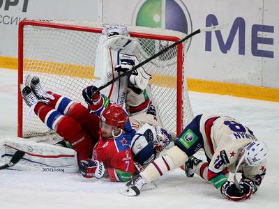 КХЛ. 1/8 финала. ЦСКА – СКА – 1:2 (ОТ)