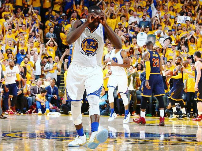 Финал плей-офф НБА. Матч № 1. «Голден Стэйт» – «Кливленд». LIVE!
