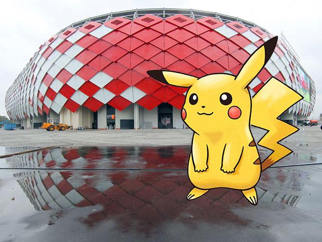 Игра Pokemon Go: на каких спортивных объектах Москвы больше всех покемонов