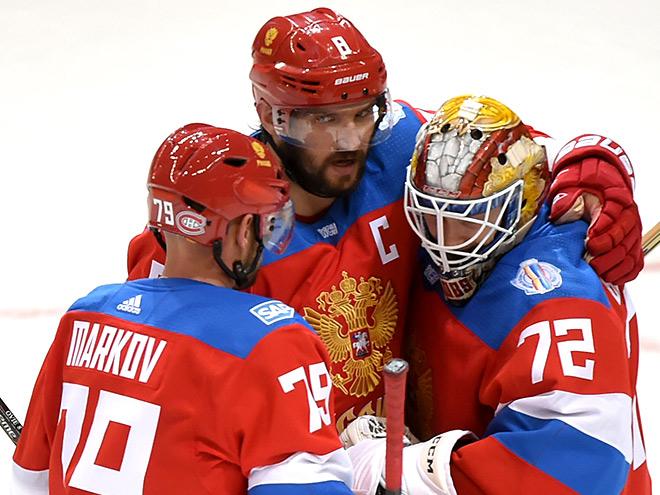 Россия — Финляндия — 3:0. Комментарии Овечкина, Тарасенко, Телегина