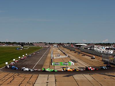 Обзор событий в NASCAR и IndyCar
