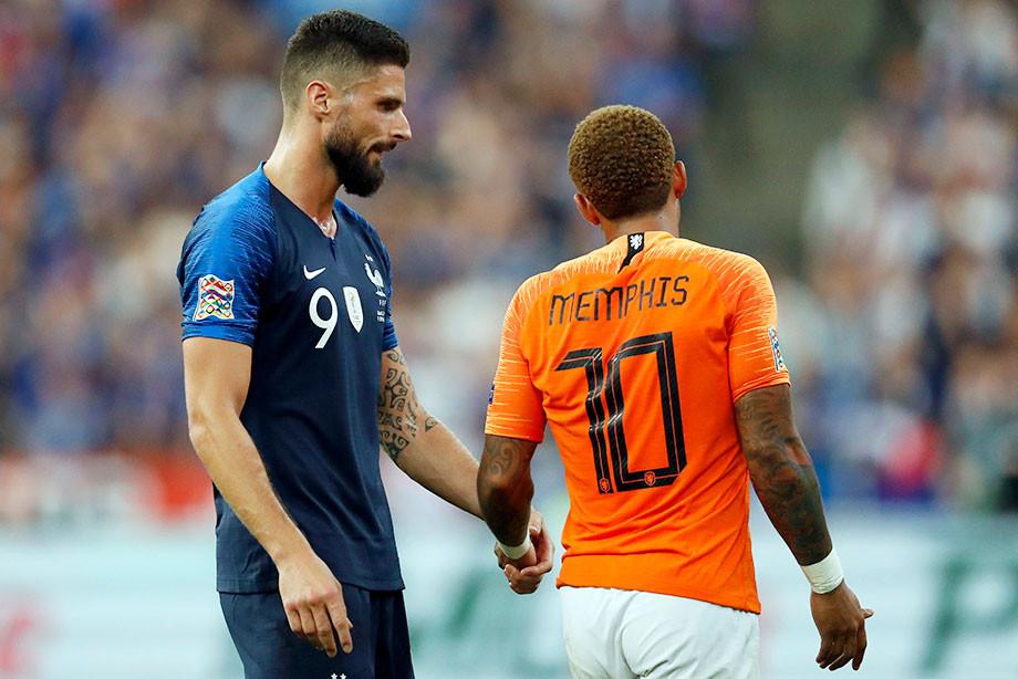По обоюдному согласию. Чего ждать от матча Нидерланды — Франция