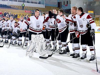 Юниорская сборная Латвии переиграла швейцарцев