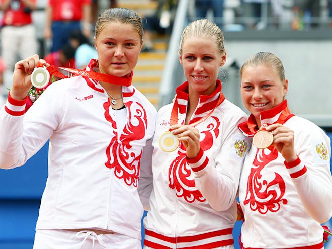 Сафина, Дементьева и Звонарёва