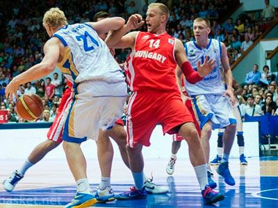 В первом матче отбора к Еробаскету-2013 Украина обыграла Венгрию