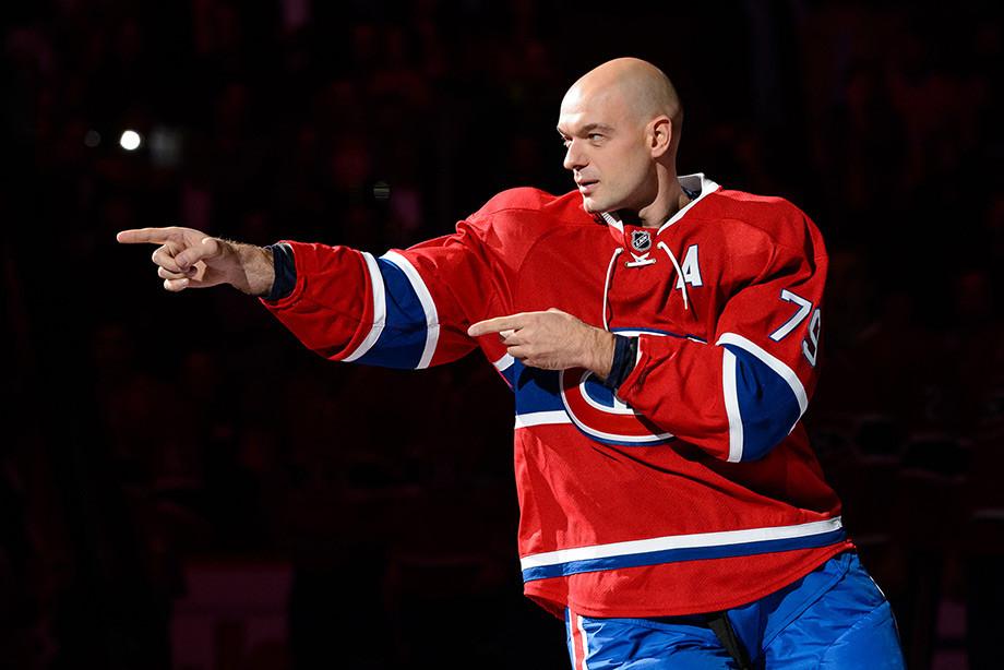 Андрей Марков пытается вернуться в НХЛ