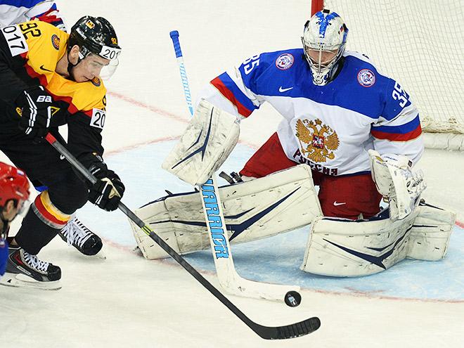 Андрей Василевский был лучшим в составе России