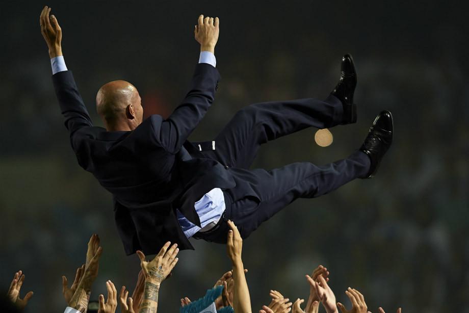 Главный тренер «Реала» Зидан уходит сосвоего поста