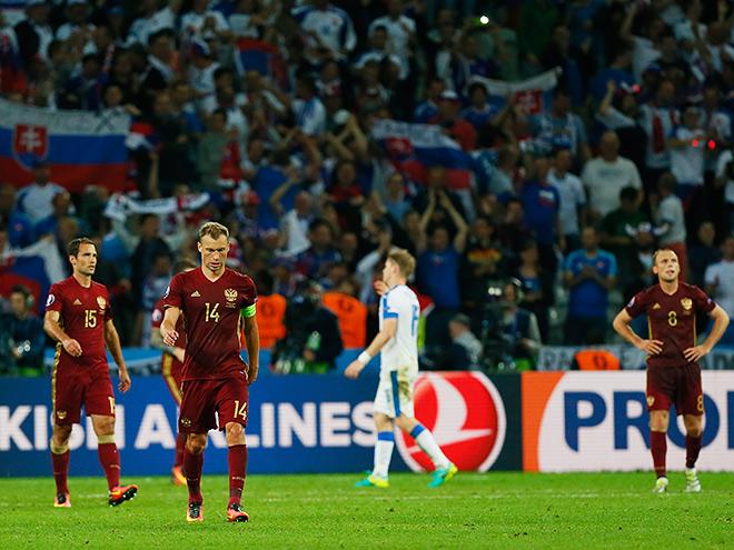 Россия проиграла Словакии