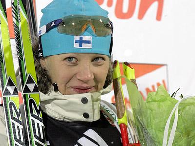 Горячей финской девушке мороз нипочём