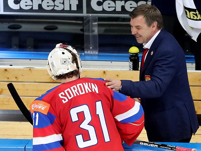 Илья Сорокин и Олег Знарок