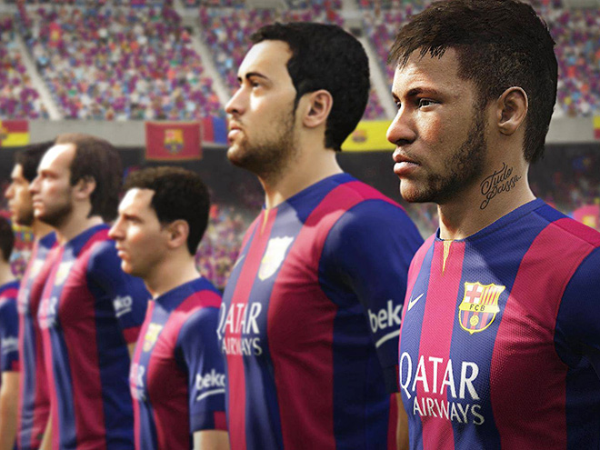 Месси выше Роналду в рейтинге от FIFA 16